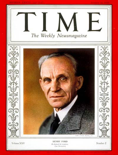 Time Magazine, January 14, 1935.